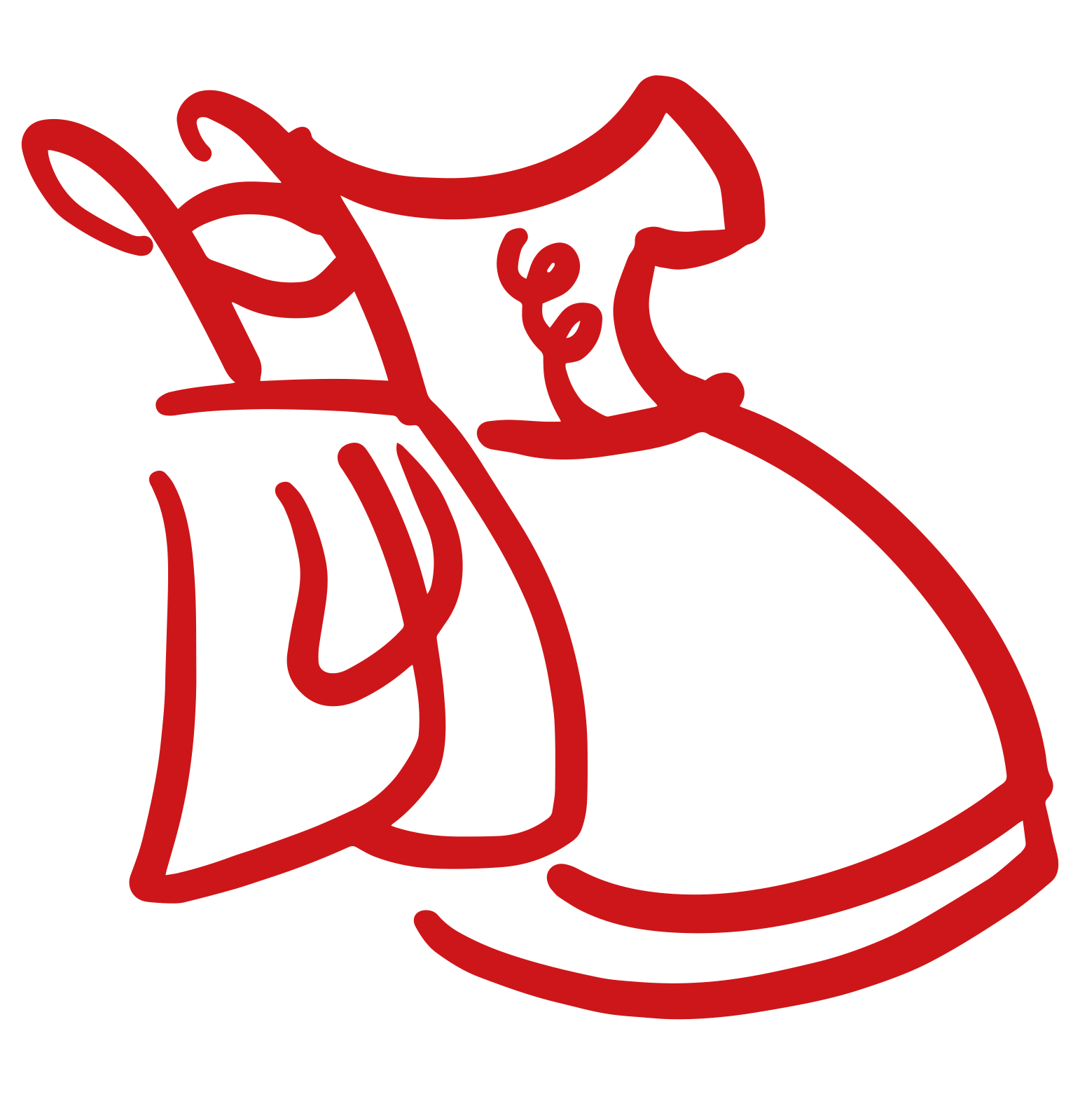 Dirndl-Strickjacke in royal blau